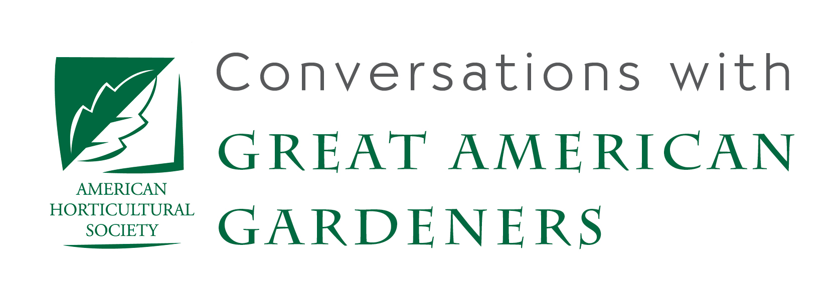 Conversations with Great American Gardeners